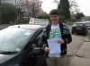Harry Clarke passed with Colin Kentish Driver Training