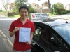 Jiahao Mai passed with Colin Kentish Driver Training