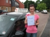 Lucia Pitonakova passed with Colin Kentish Driver Training