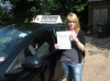 Zoe Gracey passed with Colin Kentish Driver Training