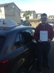 Aaron Harris passed with In 2 Driving School Of Motoring
