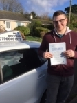 Alex Brady passed with In 2 Driving School Of Motoring