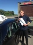 Alex White passed with In 2 Driving School Of Motoring