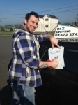 Alistair Rankine passed with In 2 Driving School Of Motoring