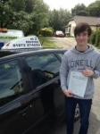 Angus Reddington passed with In 2 Driving School Of Motoring