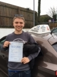 Ben Proudfoot passed with In 2 Driving School Of Motoring