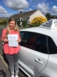 Brioney Garrett passed with In 2 Driving School Of Motoring