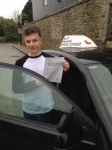 Callum Hinchley passed with In 2 Driving School Of Motoring