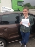 Chloe Martin passed with In 2 Driving School Of Motoring