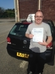 Chris Reeve passed with In 2 Driving School Of Motoring