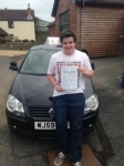 Chris Sutton passed with In 2 Driving School Of Motoring