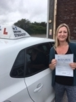 Clare O'Shea passed with In 2 Driving School Of Motoring