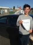 Connor Lawrence passed with In 2 Driving School Of Motoring