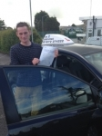 Dan Byrne passed with In 2 Driving School Of Motoring