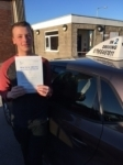 Dylan Bullen passed with In 2 Driving School Of Motoring