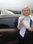 Eden Laws passed with In 2 Driving School Of Motoring