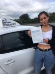 Ellie Carter-Leay passed with In 2 Driving School Of Motoring