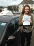 Ellie Spargo passed with In 2 Driving School Of Motoring
