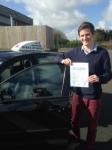 Elliott Wilkinson passed with In 2 Driving School Of Motoring