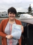 Emily Youlton passed with In 2 Driving School Of Motoring