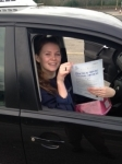 Georgie Green passed with In 2 Driving School Of Motoring