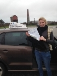 Helen Keeves passed with In 2 Driving School Of Motoring