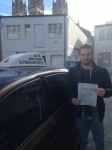 James Robinson passed with In 2 Driving School Of Motoring