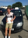 Jim Sanderson passed with In 2 Driving School Of Motoring