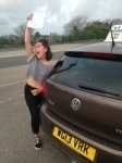 Jo-Lei Francis passed with In 2 Driving School Of Motoring