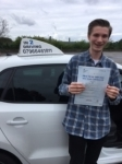 Joe Boulton passed with In 2 Driving School Of Motoring