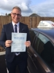 John Chatwin passed with In 2 Driving School Of Motoring