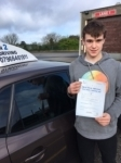 Jordan Thompson passed with In 2 Driving School Of Motoring