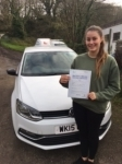 Kate Hamilton passed with In 2 Driving School Of Motoring