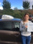 Katherine Beadle passed with In 2 Driving School Of Motoring