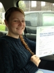 Lisa Stevens passed with In 2 Driving School Of Motoring
