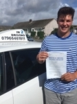 Luke Barnes passed with In 2 Driving School Of Motoring