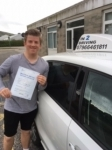 Luke Gay passed with In 2 Driving School Of Motoring