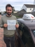 Matt Finch passed with In 2 Driving School Of Motoring