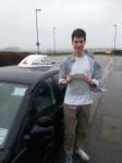 Matthew Owen passed with In 2 Driving School Of Motoring