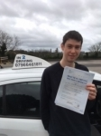 Max Ferrier passed with In 2 Driving School Of Motoring