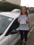 Megan Burridge passed with In 2 Driving School Of Motoring