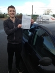 Mike Sara passed with In 2 Driving School Of Motoring