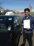 Mo Ahmed passed with In 2 Driving School Of Motoring