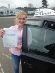Morwenna Bilham passed with In 2 Driving School Of Motoring