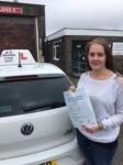 Natasha Chapman passed with In 2 Driving School Of Motoring
