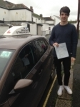 Ollie Lello passed with In 2 Driving School Of Motoring