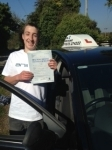 Olly Sawicz passed with In 2 Driving School Of Motoring