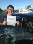 Perran Pope passed with In 2 Driving School Of Motoring