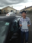 Phone Naing passed with In 2 Driving School Of Motoring