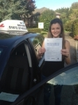 Ria Boulton passed with In 2 Driving School Of Motoring